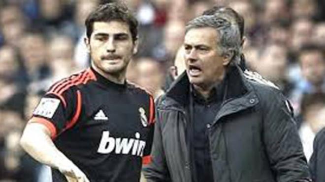 La relación de Casillas con Mourinho fue, en momentos, tormentosa