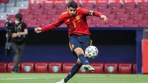 Luis Enrique: Contra Polonia jugarán Morata y diez más