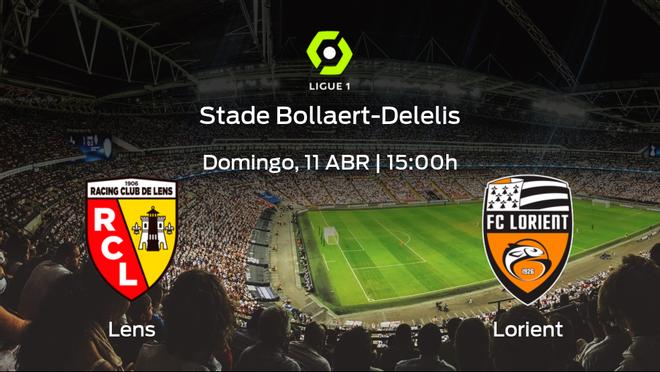 Previa del encuentro: el Racing de Lens recibe al Lorient en la trigésimo segunda jornada