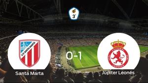 El Júpiter Leonés se lleva la victoria después de derrotar 0-1 al Santa Marta