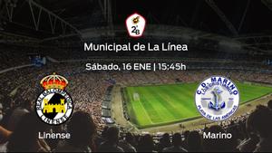 Jornada 10 de la Segunda División B: previa del encuentro Linense - Marino