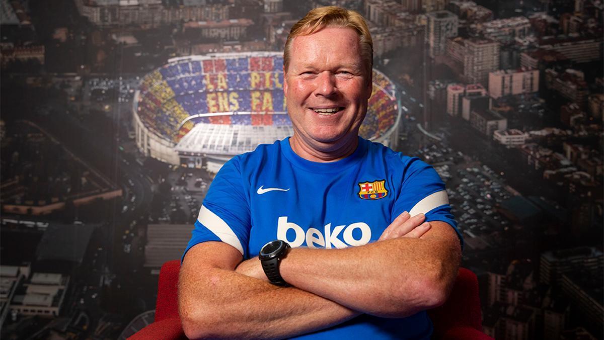 Koeman: Como entrenador pienso en el club