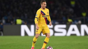 Arthur, nuevo jugador de la Juventus