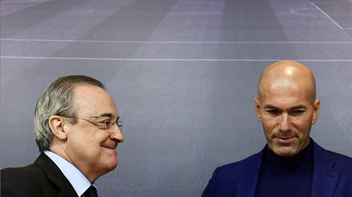 Florentino Pérez no ha podido convencer a Zidane