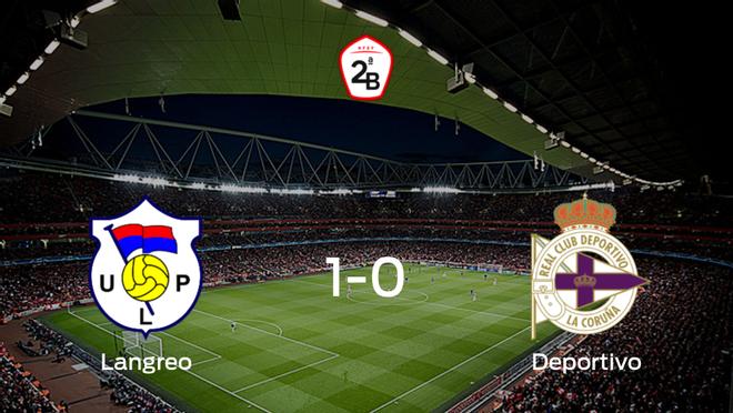 El Langreo vence 1-0 en su estadio frente al Deportivo