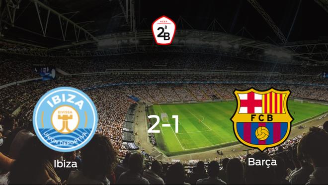 El Ibiza consigue la victoria en casa frente al Barcelona B (2-1)