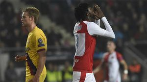 Olayinka le privó a Suárez de romper su mala racha fuera de casa