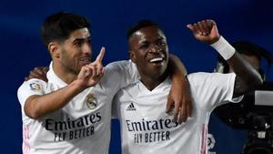 Asensio y Vinicius, dos delanteros sin pegada
