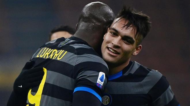 Lukaku y Lautaro, la dupla letal del Inter de Milán