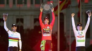 Primoz Roglic se coronó en la última edición de la Vuelta a España