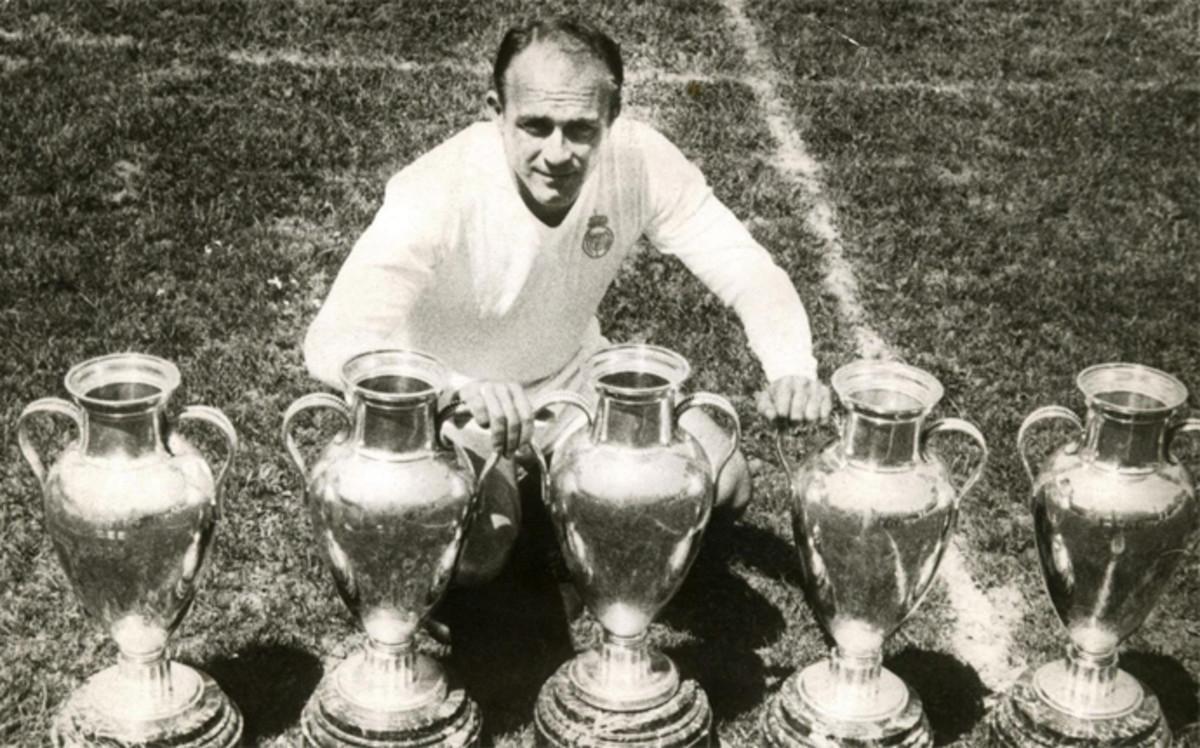 Polémica con las seis copas del Madrid