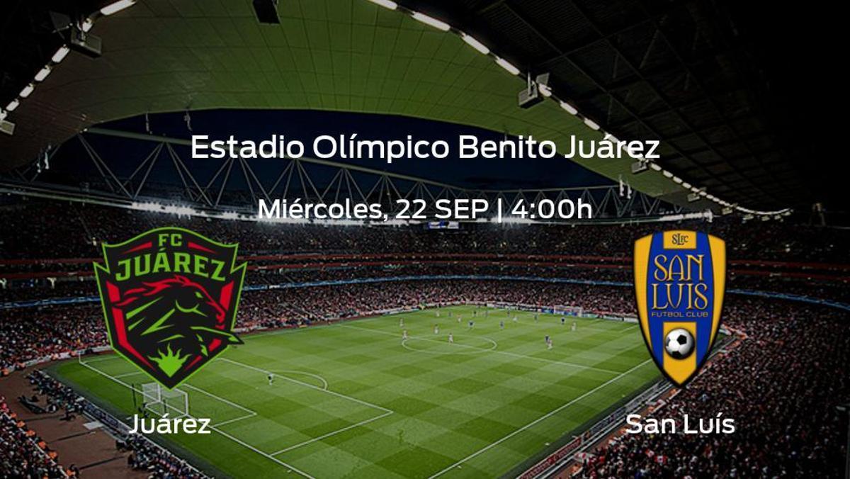 Previa del encuentro: FC Juárez - San Luís