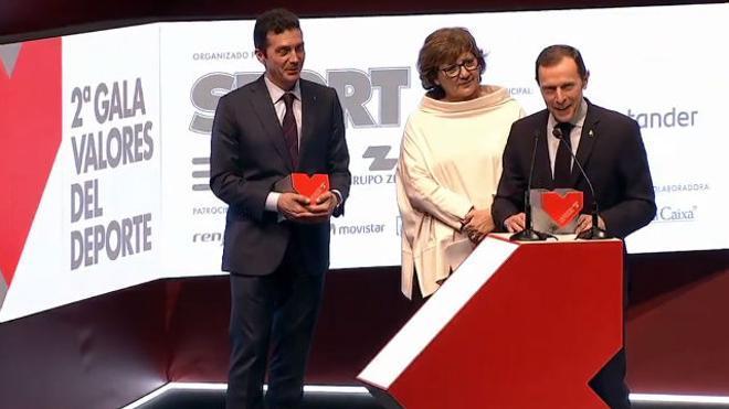 El clásico Barça-Real Madrid, Premio Valores Acontecimiento Deportivo