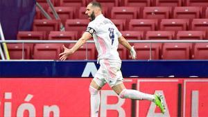 Benzema puso tablas en el marcador en el tramo final del partido