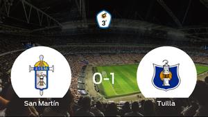 El Tuilla vence 0-1 en casa del San Martín