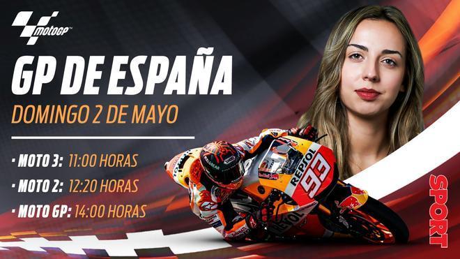 Horario del GP de Jérez de Moto GP