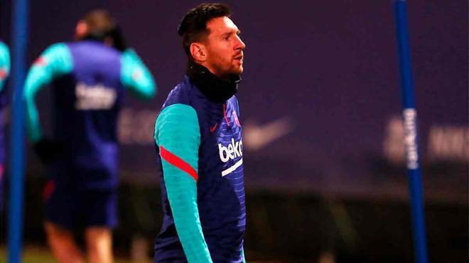 El Barça prepara el partido ante el Huesca