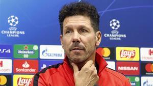 Diego Pablo Simeone no se fía del Lokomotiv de Moscú