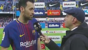 LALIGA   FC Barcelona - Atlético de Madrid (1-0): Busquets: La Liga se consigue ganando a los mejores