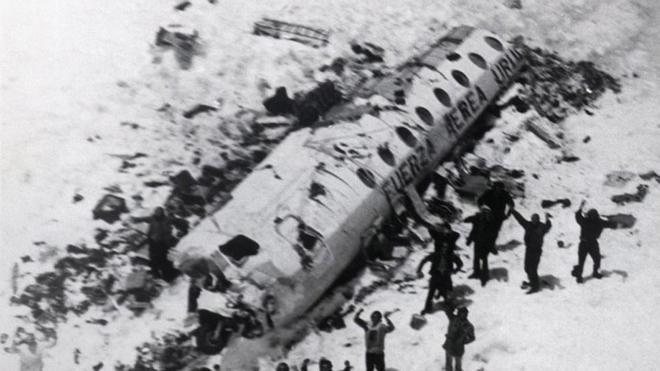 La tragedia de los Andes provocó un gran impacto en todo el mundo