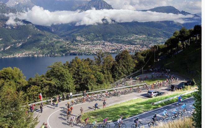 Etapa de montaña del Giro de Italia