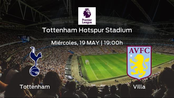 Jornada 37 de la Premier League: previa del encuentro Tottenham Hotspur - Aston Villa