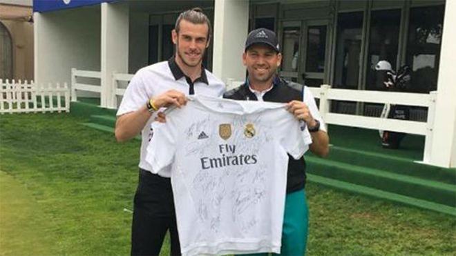 Sergio García defiende a Bale