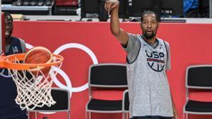 Durant espera ayuda de sus tres compañeros para lograr un nuevo oro para Estados Unidos