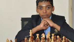 Rameshbabu Praggnanandhaa, en una imagen de archivo