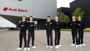 """Carlos Sainz y Lucas Cruz, en el """"Dream Team"""" de Audi para el Rally Dakar"""