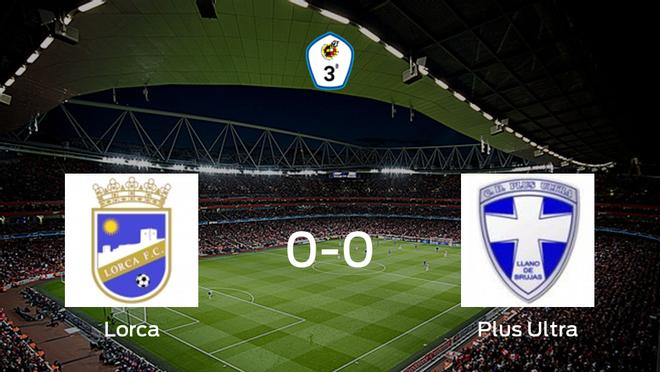 El Lorca y el Plus Ultra concluyen su enfrentamiento en el Francisco Artés Carrasco sin goles (0-0)