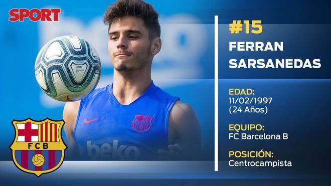 Ferran Sarsanedas (Barça B)