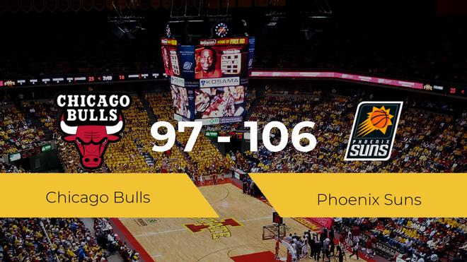 Phoenix Suns se queda con la victoria frente a Chicago Bulls por 97-106