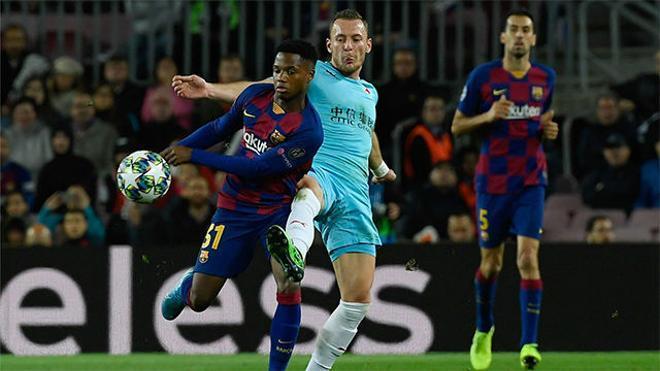 El endiablado pase de Ansu Fati a Messi que lo pudo cambiar todo