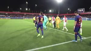 Las primeras ocasiones del Barça en el Estadi Johan Cruyff