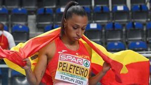 Ana Peleteiro se quedó a un solo centímetro del oro