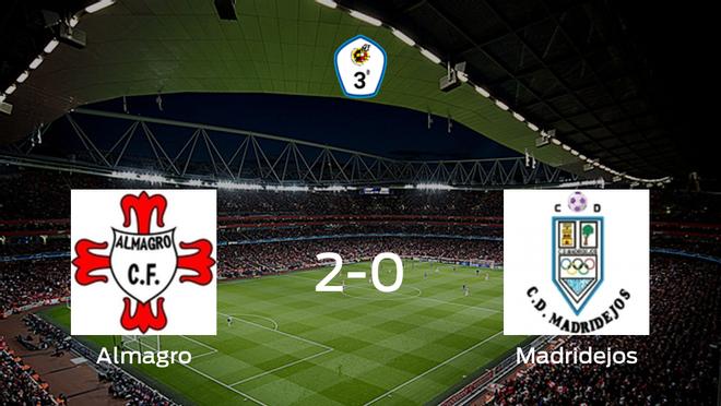 El Almagro consigue la victoria en casa frente al Madridejos (2-0)