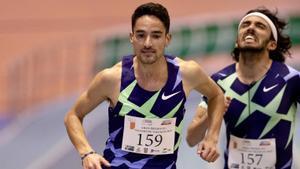 Ignacio Fontes y Fernando Carro fueron primero y tercero en 3.000