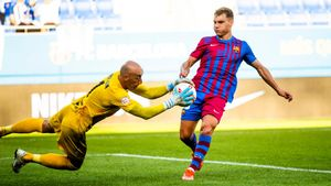 El Barça B empata 0-0 contra el Alcoyano