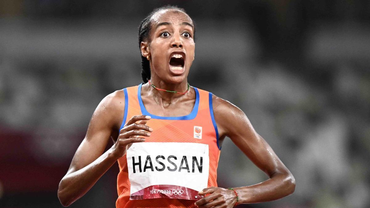 Sifan Hassan se colgó su primer oro en Tokio