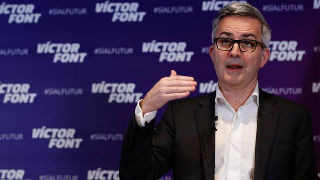 Víctor Font, candidato a las elecciones del Barça