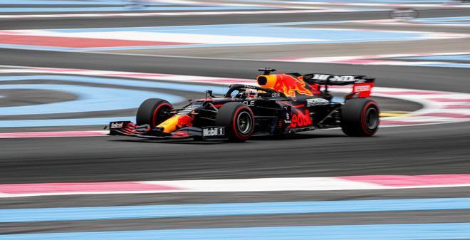 Verstappen, el más rápido en Paul Ricard