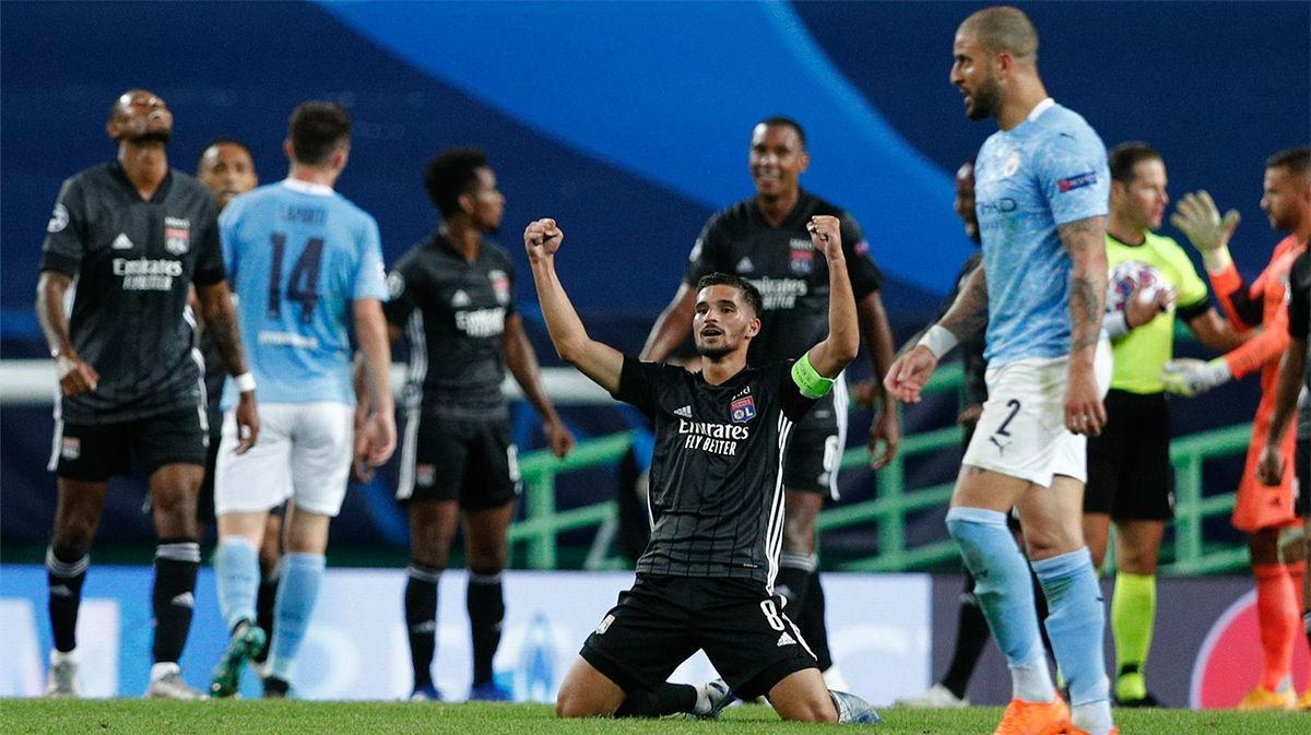 El resumen de la derrota del Manchester City ante el Lyon