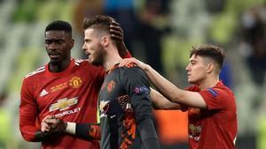 El penalti que falló De Gea ante Rulli en la final de la Europa League
