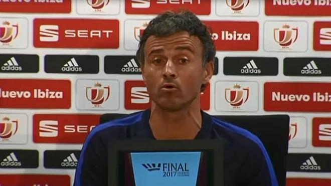 Luis Enrique en su día no descartó volver al Barça