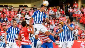 El resumen del encuentro entre el Granada y la Real Sociedad