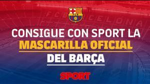 Consigue las mascarillas del Barça
