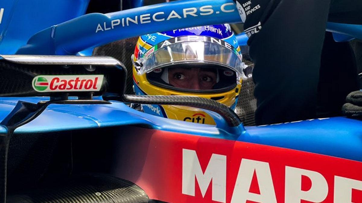 Fernando Alonso, en Sochi