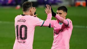 Messi y Pedri, sociedad ilimitada