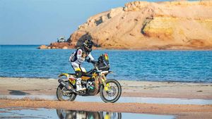 Benavides, nuevo líder del Dakar